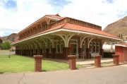 Old train depot - now visitors' center