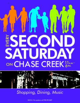 Every Second Saturday Flyer