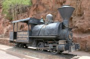 Narrow gauge steam engine